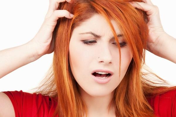 saç da aşırı yağlanma
